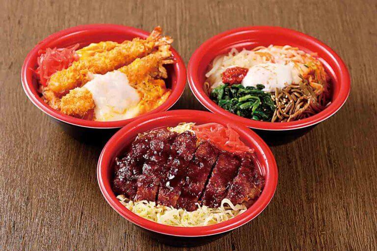 新発田に手作り弁当新店 バラエティー豊かな15種類の丼はいつでも出来たてアツアツ!