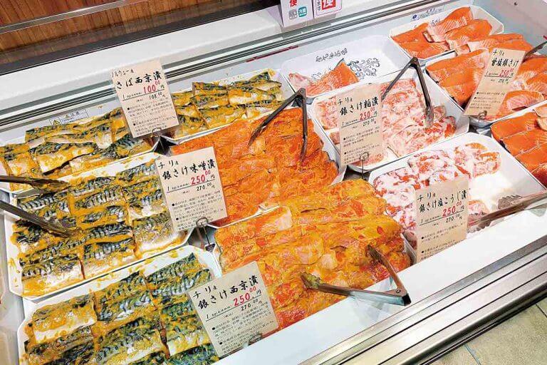 けんこう市場 鮭専門店 鮭や(サケヤ)/新潟駅構内のサケ専門店が新潟駅前交番向かいに復活の画像4