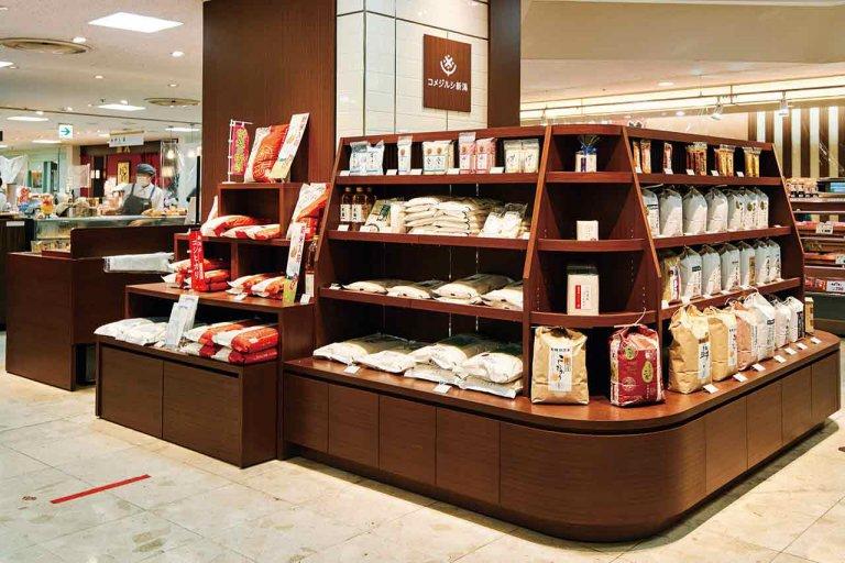 新潟伊勢丹に新潟県産米の専門店 こだわりのおむすびや惣菜も販売