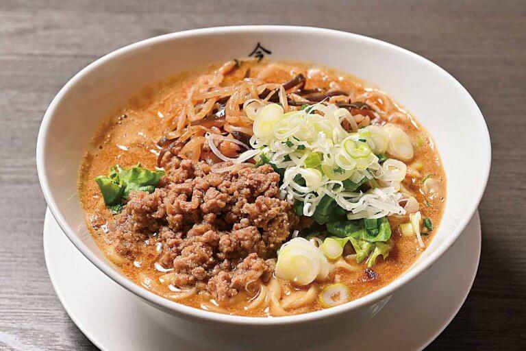 長岡市の人気店「麺屋 松」に姉妹店 6種の香辛料が香る「日式ゴマ辛濃厚そば」が看板