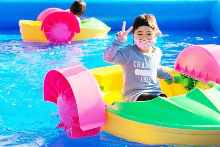 巨大迷路にパドルボート、ミニ運動会も!  万代シテイに2日間限りのスポーツ公園「Kids Komachiスポーツパーク IN 万代シテイ」が登場 11/7(土)・8(日)