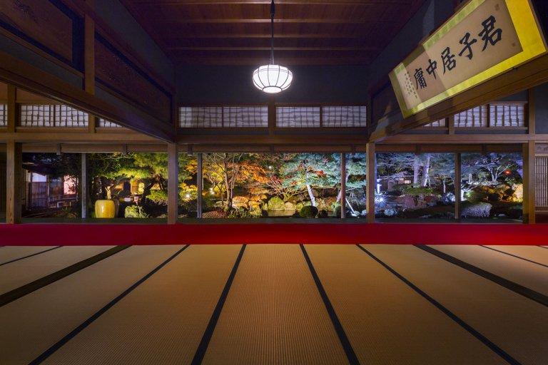 江南区の北方文化博物館で4日間限定の紅葉ライトアップ 20日(金)から