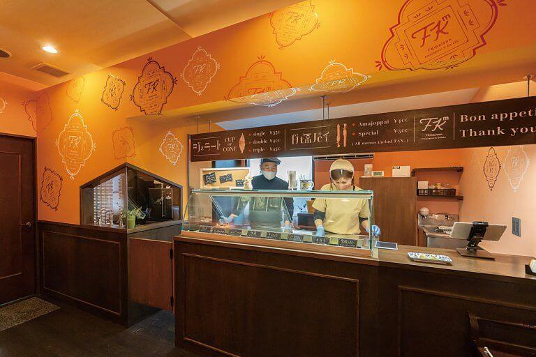 古町の居酒屋「喜ぐち」が新店舗オープン 果肉たっぷりのジェラート&塩味の効いたスティックパイを販売の画像4