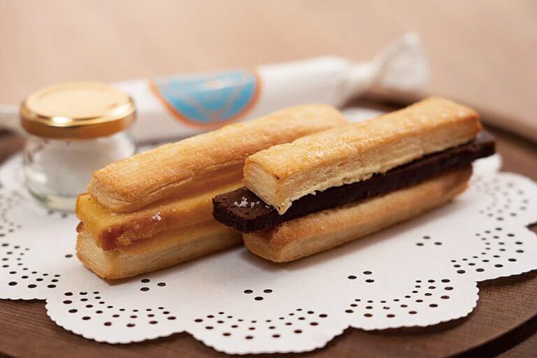 FKmaison(エフケーメゾン)/古町の居酒屋「喜ぐち」が新店舗オープン 果肉たっぷりのジェラート&塩味の効いたスティックパイを販売