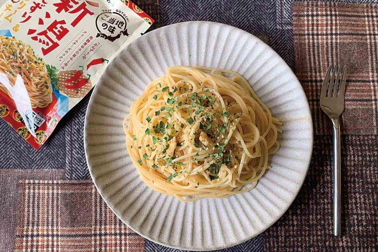 妙高名物・かんずりとのコラボフレーバーが登場! エスビー食品「まぜるだけのスパゲッティソースご当地の味」シリーズ