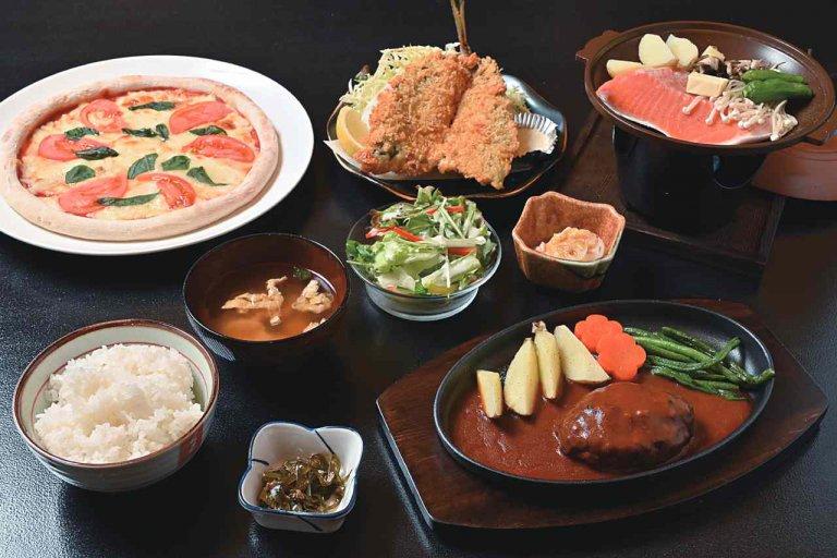 湯沢町に多彩なメニューのダイニング「GO TO KU 〜礼〜」 定食やラーメンのほかアルコールが進む一品料理ものメイン画像