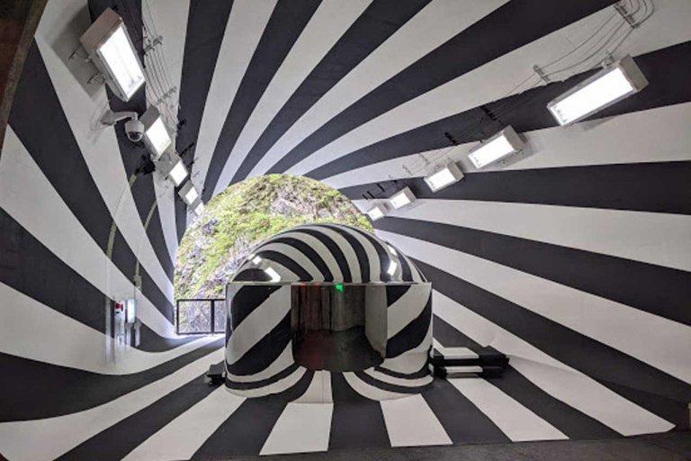 大地の芸術祭2021「清津峡渓谷トンネル第2見晴所」がリニューアル! 先行公開に行ってきました。
