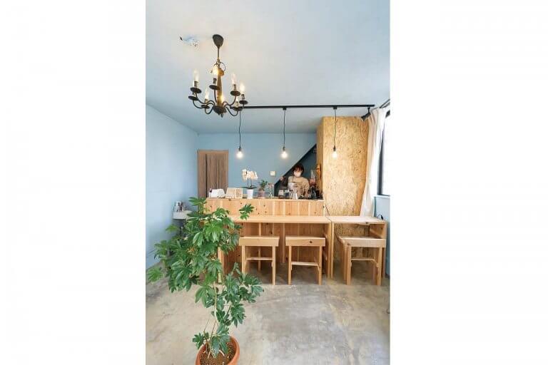 弁天線沿いに小さなカフェがオープン「miroir cafe(ミロワール カフェ)」木の温もり感じる空間でケーキや軽食をの画像5