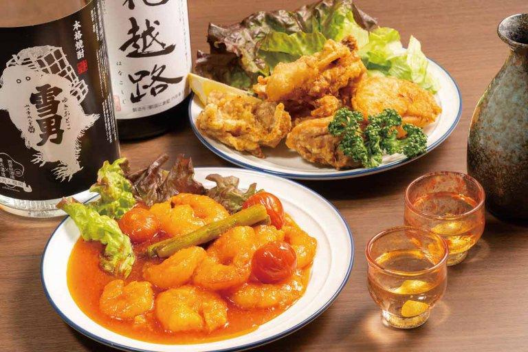 鮮魚料理が自慢の居酒屋「もとじ」が新津駅前に 種類豊富なお酒をレトロな雰囲気の店内でゆったりと楽しんで