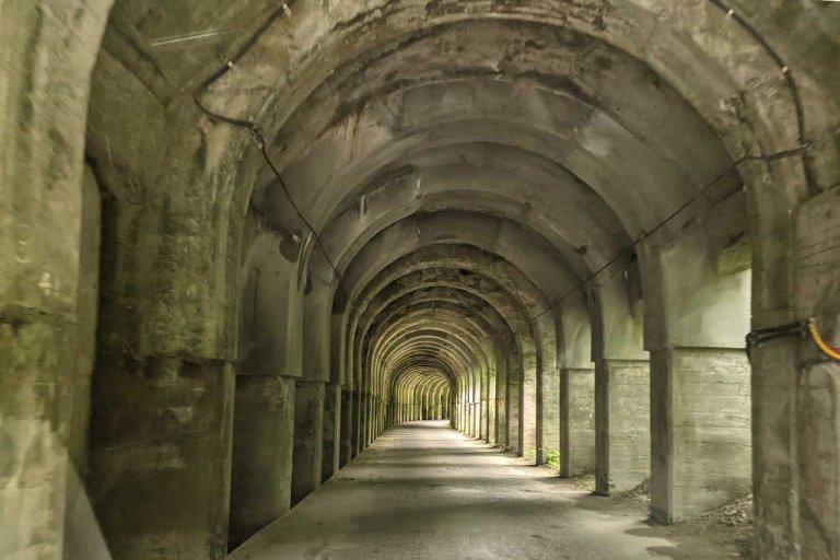 神殿遺跡のような美しさがSNSで話題に!新発田市「東赤谷連続洞門」で非日常を体験してきました。