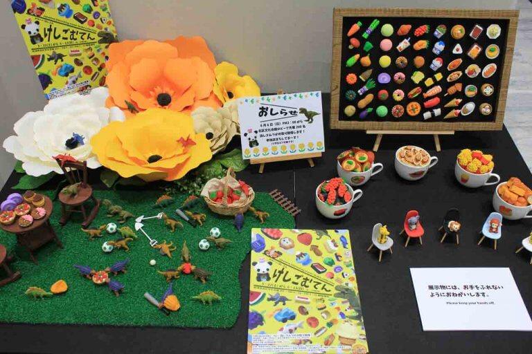ケーキ・寿司・野菜… かわいい消しゴムが大集合!「かわいい消しゴム けしごむてん」新潟市北区文化会館で開催中