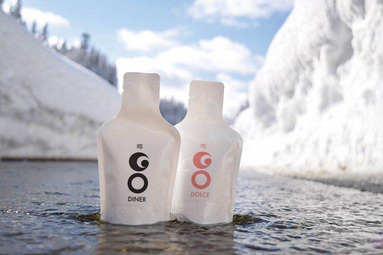冷凍から熱燗まで! 100mL飲み切りタイプのパウチ入り日本酒「GO POCKET」発売 携帯しやすくアウトドアにも◎