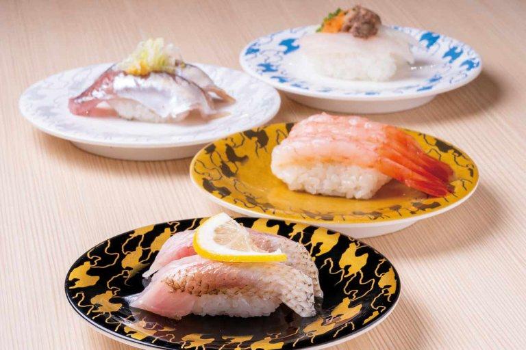 佐渡直送のネタで人気の「弁慶(ベンケイ)」が万代シテイに!タッチパネル&専用レーンの非接触型スタイルで営業