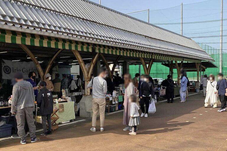 """""""植""""と""""食""""の一大イベント「植物天国 in 白山市場」開催 1,000鉢の観葉植物と多彩なフードを販売"""